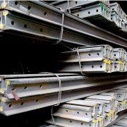 50kg metro steel rail