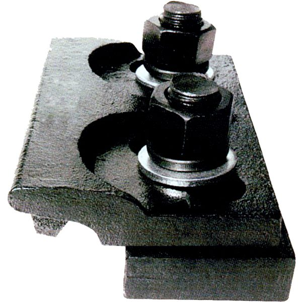 Double welding clamp