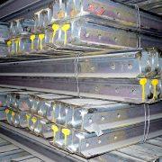 P50 heavy steel rail