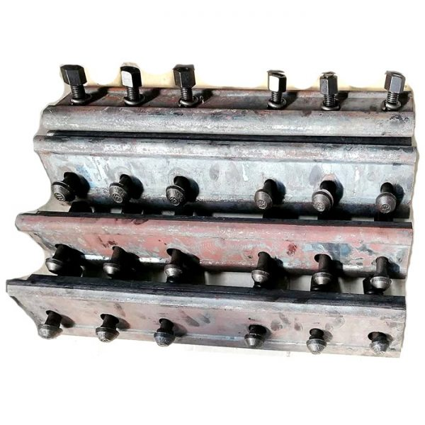 Rail joint bar or fishplate