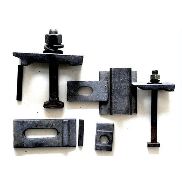 Buried rail clamps