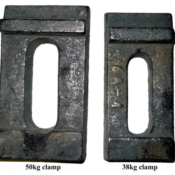 50kg clamp & 38kg clamp