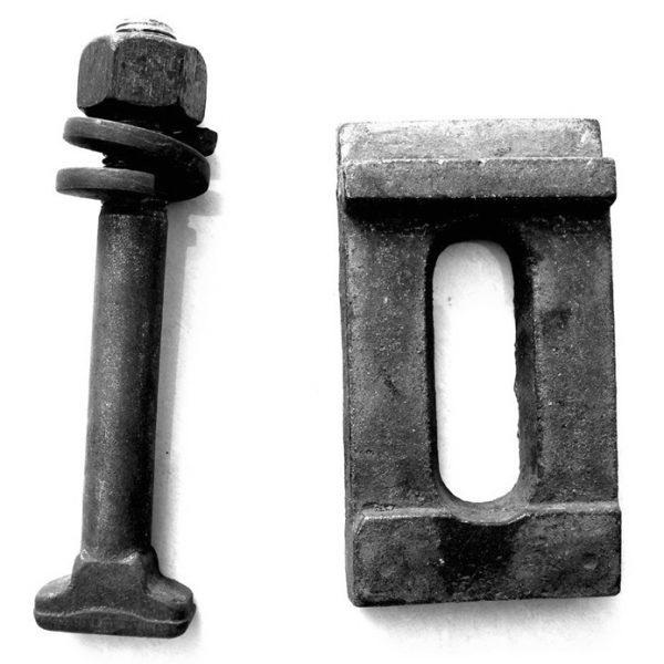 50kg rail clamp and Buried bolt-1