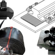 Crane rail fasteners