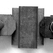 Welded rail clamp